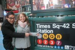 Photo of New York City Private New York Walking Tour with a Personal Photographer Subway!