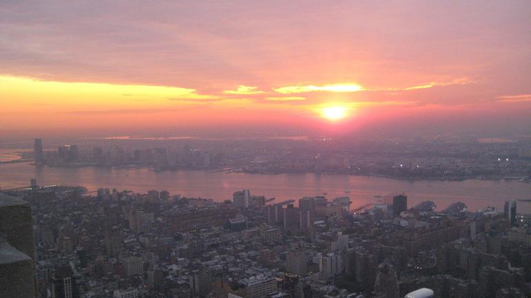 Sunset from Empire State Building - New York City