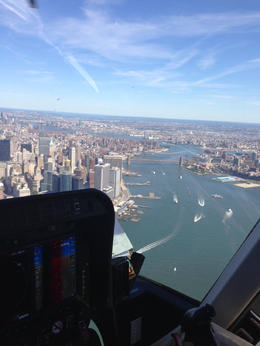 Photo of New York City Manhattan Sky Tour: New York Helicopter Flight The East River side of Manhattan