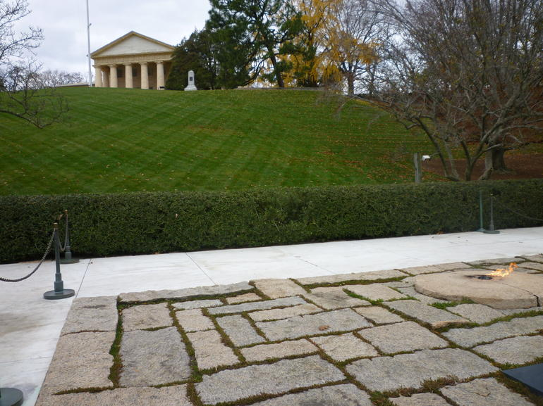Top of Arlington Cemetery - Washington DC