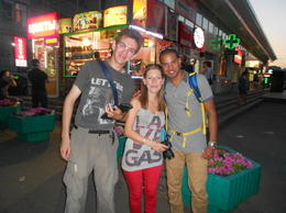 Photo of   tour guide and 2 of the tourist