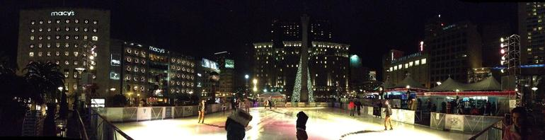 Union Square Ice Rink - San Francisco
