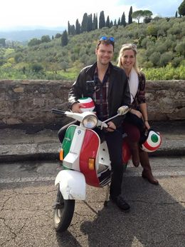 Andy and Kathryn in the Tuscan country hillside! , Andrew K - October 2015