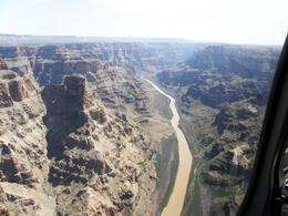 Photo of Las Vegas Ultimate Grand Canyon 4-in-1 Helicopter Tour View down the Colorado