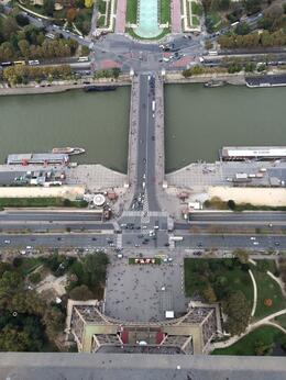 From Puerto Rico to Paris - View From Eiffel Tower , Carlos V - November 2014