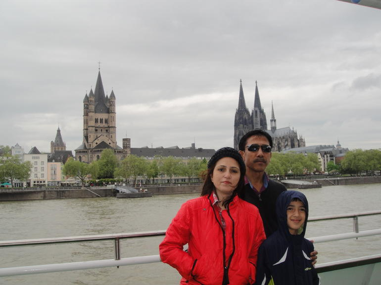 View from river cruise - Cologne