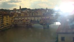 This scene was captured from the Uffizi Gallery., Sadaf R - June 2008