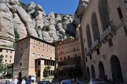 Photo of Barcelona Montserrat and Cava Trail Small Group Day Trip from Barcelona Another View of the Monastary