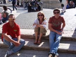 Photo of Rome Rome Segway Tour Chating it up with Marco. The BEST tour guide in Roma!