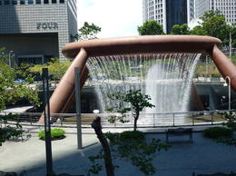 Photo of Singapore Singapore City Hop-on Hop-off Tour Fountain