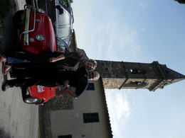 Photo of Florence Self-Drive Vintage Fiat 500 Tour from Florence: Tuscan Hills and Italian Cuisine Great car..great fun