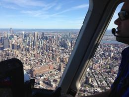 Photo of New York City Manhattan Sky Tour: New York Helicopter Flight Great views from the copilot seat