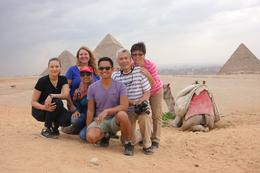 Photo of Cairo Half-Day Morning Giza Pyramids and Sphinx Adventure from Cairo including Egyptian Lunch Happy bunch