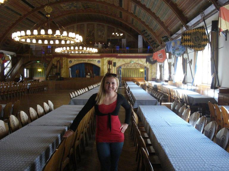 Inside of Hofbrauhaus - Munich