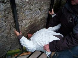 Photo of Dublin Cork and Blarney Castle Rail Trip from Dublin kissing the stone