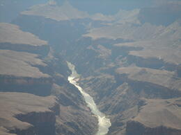 Photo of Las Vegas Deluxe Grand Canyon South Rim Airplane Tour Looking down at the Colorado River
