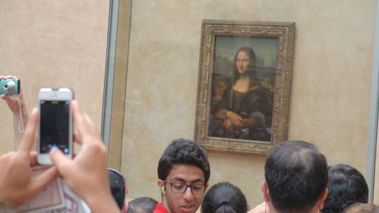 Omar in the Louvre - Paris