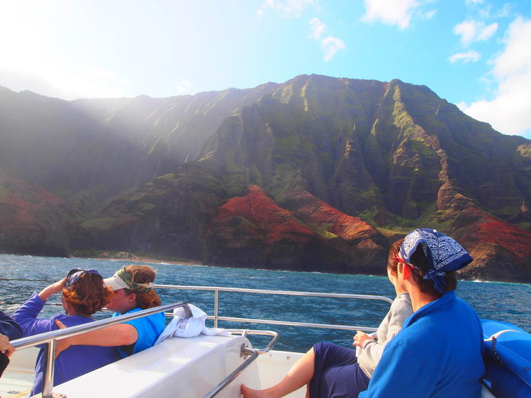 On the Napali and Ni'hau Kauai Snorkel Cruise - Kauai