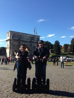 Jt and Suzanne in Rome , Suzanne H - November 2014