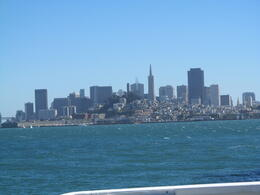 view from the boat on the way alcatraz , Jo G - September 2012