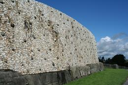 Photo of Dublin Newgrange and Monasterboice Day Trip from Dublin Side View Newgrange