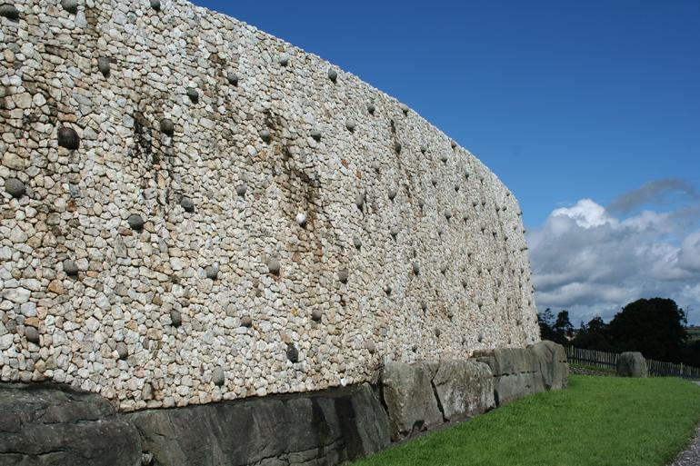 Side View Newgrange - Dublin