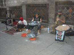 This was charming! Down one of the small side Gothic streets was a street band., Rhonda R - October 2009