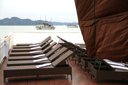 Photo of Hanoi Halong Bay Overnight Junk Boat Cruise Sundeck