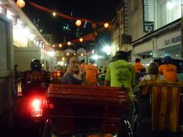 Photo of Singapore Singapore's Chinatown Trishaw Night Tour tuk tuk ride