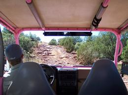 Photo of Sedona & Flagstaff Diamondback Gulch Jeep Tour Going up...
