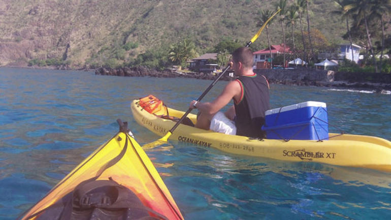 Kayaking - Big Island of Hawaii