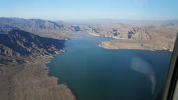Flying over Lake Mead to Grand Canyon , David W - May 2013
