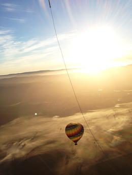Photo of Napa & Sonoma Napa Valley Hot-Air Balloon Ride with Sparkling Wine Brunch Mist