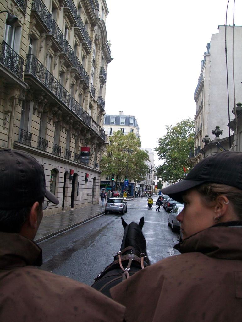 On our way to the Champs Elysees - Paris