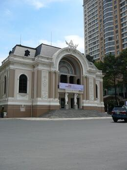 Photo of Ho Chi Minh City Ho Chi Minh Cyclo and Walking Small Group Adventure Tour Opera House