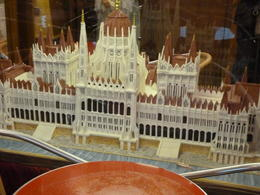 Marzipan Parliament Building in Marzipan museum , Ruth G - October 2011