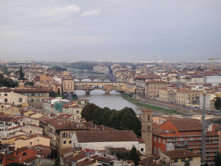 Panoramic view of Florence - Florence