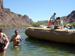 Photo of Las Vegas Black Canyon River Rafting Tour Splash and Swim
