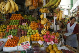 A small sample of the fruits in the Market , NeuMarina - April 2013