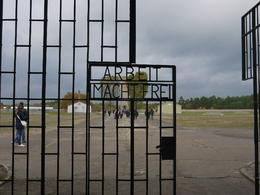 This is the gate to the actual camp which is over 1000 acres. , David W - November 2013
