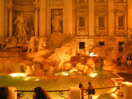 Photo of Rome Panoramic Rome by Night Tour and Dinner in Trastevere Trevi Fountain