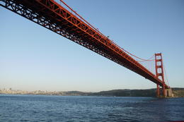 Going under the Golden Gate Bridge. It look so hugh and solid. Just amazing. , David Yuen - May 2013