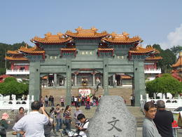 We went to visit the Wenwu temple at Sun Moon Lake. , Frank V - March 2013