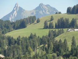 Photo of Geneva Day Trip to Gruyères including Golden Panoramic Express Train Beautiful landscape - Mountains