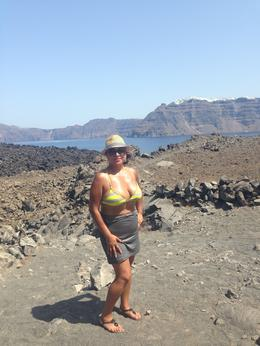 Photo of Santorini Santorini Volcano Cruise Including Hot Springs, Thirasia and Optional Oia Sunset BEST HIKE OF MY LIFE!!