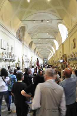 Photo of Rome Skip the Line: Vatican Museums, Sistine Chapel and St Peter's Basilica Half-Day Walking Tour Corredor de los bustos