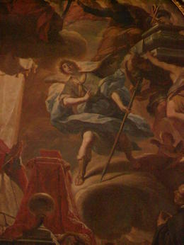 Archangel Raphael, saint patron of Cordoba, Cathedral , clio_selene - April 2012