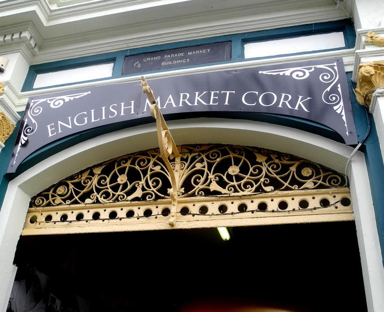 English Mark at Cork - Dublin