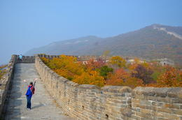 Exploring the Mutianyu section of the Great Wall of China, with very few people in sight , Marichris - October 2014