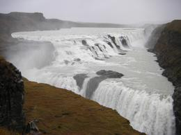 Photo of Reykjavik Golden Circle Super Jeep Tour and Snowmobiling Gulfoss waterfall